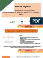 VII Reunión Regional   Red de Sistemas Públicos de Abastecimiento y Comercialización de Alimentos para América Latina y el Caribe (CNP)