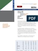 Análisis FODA Iberia