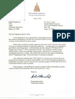 Senator Blumenthal Letter 7-5-19