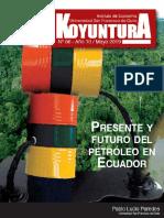 Presente y futuro del petróleo en Ecuador