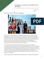 27-06-2019 - Sonora y Arizona privilegian su relación en beneficio de la Megarregión Natalia Rivera - H.canalsonora.com