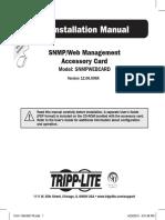 Tripp Lite Owners Manual 753607
