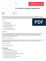 Peoplesoft Ps Nvision for General Ledger Rel 9 2