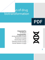 Biotransformation Pathways