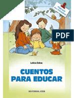 Cuentos Para Educar - Leticia Dotras Menéndez