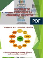 Estructura de participacion de la comunidad educativa de Honduras