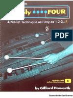 4 mallet marimba method - Gifford Howarth.pdf