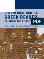 Galatians Greek Reader