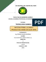 Patentes de Shampoo de Aloe Vera