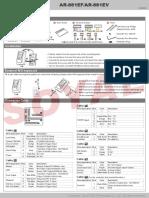881EF 881EV Manual