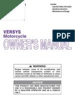 2012 Kawasaki Versys 52543