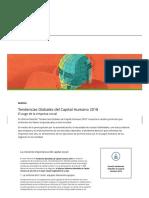Deloitte Tendencias Globales de Capital Humano 2018