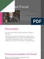 Teorías Freud, Wallon, Vigotsky, Sears.