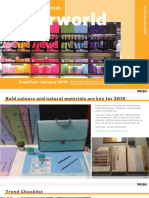 Paperworld 2019 Colour Material & Finish