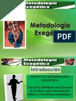 Hermeneutica II Metodologia Exegetica