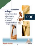 Chapter 7 Management of Subordinates