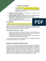 INFECCIONES PULMONARES ANATOMÍA PATOLÓGICA