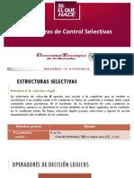 Estructuras de Control Selectivas