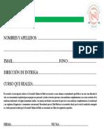 Ficha Inscripcion Cursos SCHR