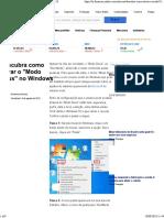 Descubra Como Ativar o _Modo Deus_ No Windows 10