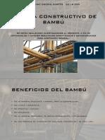 Sistema Constructivo de Bambú