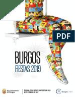 Programa de fiestas de Burgos 2019