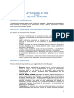 Ley Forestal 1700
