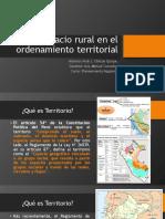 Espacio Rural en El Ordenamiento Territorial