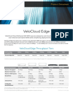 Datasheet Velocloud Edge Throughput 10