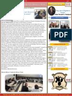 2019 07 7 Boletín Vol 3 111 Muchas Gracias Por Darnos La Bienvenida
