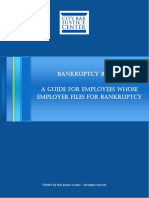 Bankruptcy Basics a Guide for Employees 2016