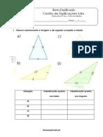 3.3 - Triângulos - Propriedades, Classificação e Construção - Ficha de Trabalho (1)