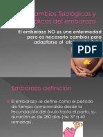 Cambios fisiologicos y metabolicos del embarazo.ppt