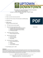 Clean and Safe Feb 13, 2019 Agenda Packet