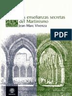 Las Enseñanzas Secretas Del Martinismo