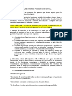 Estrategias psicoterapeuticas informe psicológico