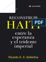 Seitenfus Revolucion y Castigo , De La Primera Independencia Haiti