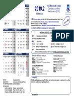 Calendario Ufcg 2019.2