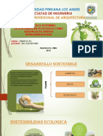 Semana 15 Desarrollo Sostenible y Principios de La Sostenibilidad Ecologica