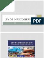 Ley de Infogobierno Grupal