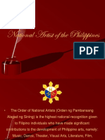 National Artist of the Phillippines Final