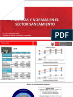 1.-Diagnostico y Politicas Del Sector Saneamiento