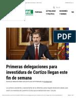 Primeras Delegaciones Para Investidura de Cortizo Llegan Este Fin de Semana - Metro Libre