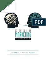 Estrategia de marketing, 6ta Edición
