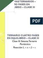 Df-13c-Sistemas Ternarios – 4 Fases en Equilibrio – Clase 3