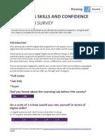 Prelaunch Survey Example