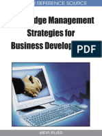- Knowledge Management Strategies for Business Development (2009, IDEA ).pdf