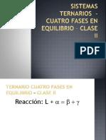 Df-13b-Sistemas Ternarios – 4 Fases en Equilibrio – Clase 2