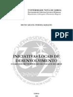 Iniciativas Locais de Desenvolvimento