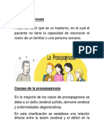 Causas de La Prosopagnosia
